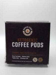 Canister (15 servings) 4.0 out of 5 stars 660. Rapid Fire Caramel Macchiato Ketogenic Coffee Pods 14 Count   eBay
