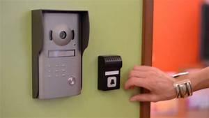 Sonnette Porte Entree : la sonnette avec amplification sonore et flash lumineux ~ Edinachiropracticcenter.com Idées de Décoration