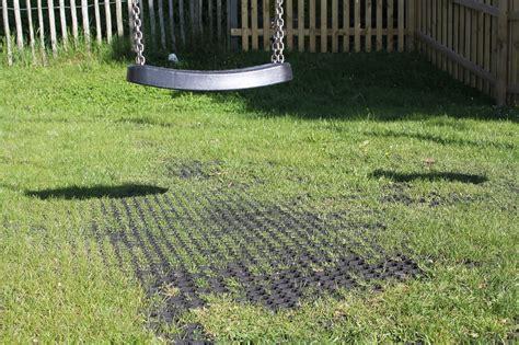 grass seed mat rubbagrass 174 rubber mat grass ground reinforcement