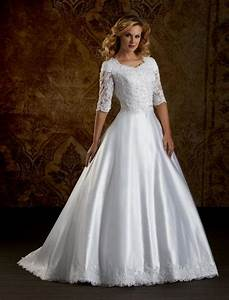 modest wedding dresses with 3 4 sleeves naf dresses With modest wedding dresses with 3 4 sleeves