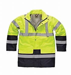 Destockage Vetement De Travail : sa7004 parka haute visibilit jaune et bleu dickies ~ Dailycaller-alerts.com Idées de Décoration