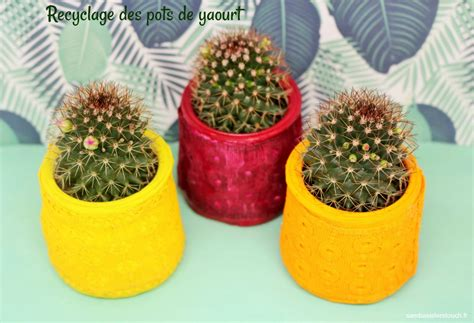 recyclage pot de yaourt plastique diy recyclage des pots de yaourt samba touch diy lifestyle et cr 233 atif