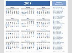 November 2017 Calendar Printable One Page – 2017 printable