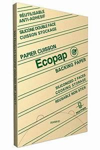 Feuille De Cuisson : papier de cuisson ecopap 60 x 40 cm x 500 ~ Melissatoandfro.com Idées de Décoration