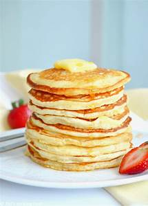 Easy Fluffy American Pancakes – Del's cooking twist
