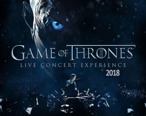 Gira De Conciertos 'juego De Tronos' En 2018