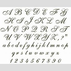 Best 25+ Cursive Letters Ideas On Pinterest  Cursive Alphabet, Cursive Fonts And Fancy Writing