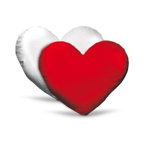 cuscino cuore cuscino cuore bicolore personalizzato