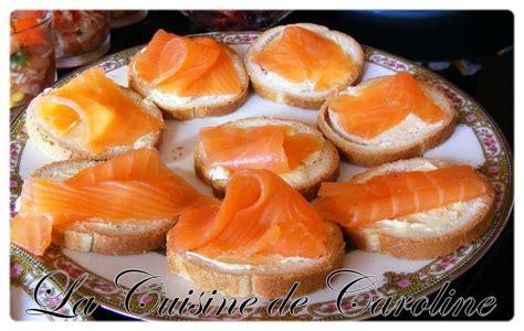canap駸 au saumon buffet apéro chez ma soeur la cuisine de caroline