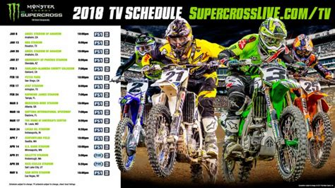 ama motocross tickets format changes coming to 2018 monster energy supercross