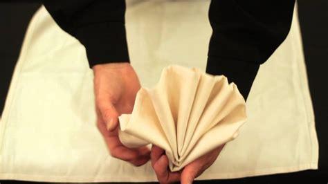 fold  dinner party napkin youtube