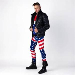 American Flag Meggings (Alternative) | Meggings Man Clothing