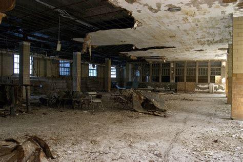basement gym photo   abandoned pennhurst state school