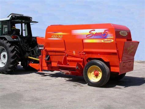 SEKO 450/90 SAM 5 Livestock Feeding Mixer Wagons Specification