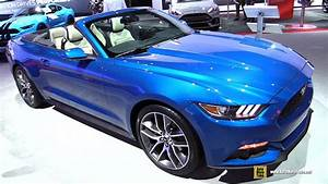 2017 Ford Mustang Convertible Premium 2.3L - Exterior and ...