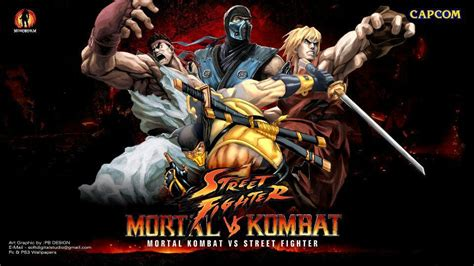 Street Fighter Vs Mk Coming 2018!!!!  Video Games Amino