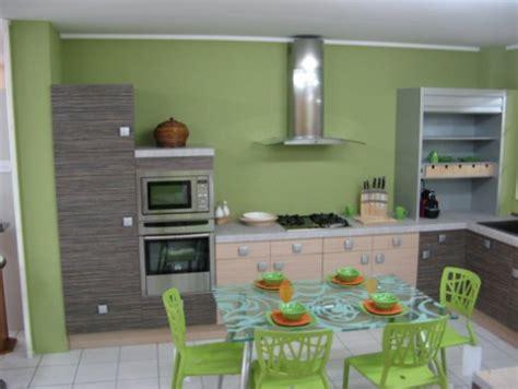 deco cuisine vert ophrey com modele cuisine vert anis prélèvement d