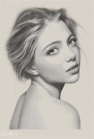 Realistic Girl Face Drawing
