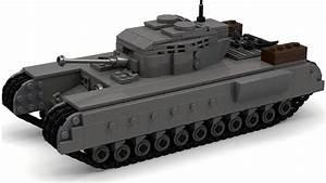 Lego Wwii British Churchill Tank Instructions