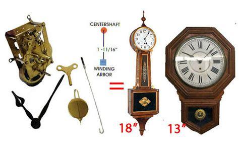 Wind Up Wall Clock With Pendulum