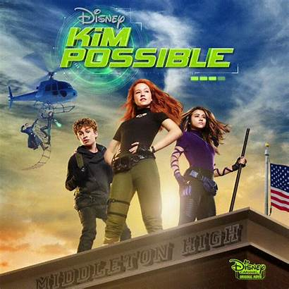 Kim Possible Action Disney Poster Channel Exclusive