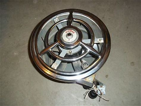 vintage retro nutone kitchen bath exhaust fan  chrome