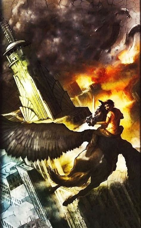 New Percy Jackson And The Olympians Cover For The Last
