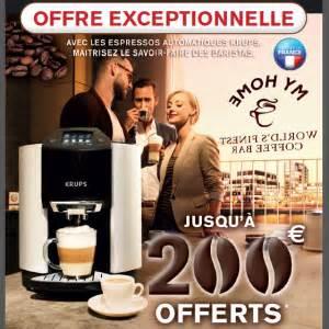 Offre De Remboursement : offre de remboursement 200 sur machine espresso krups ~ Carolinahurricanesstore.com Idées de Décoration