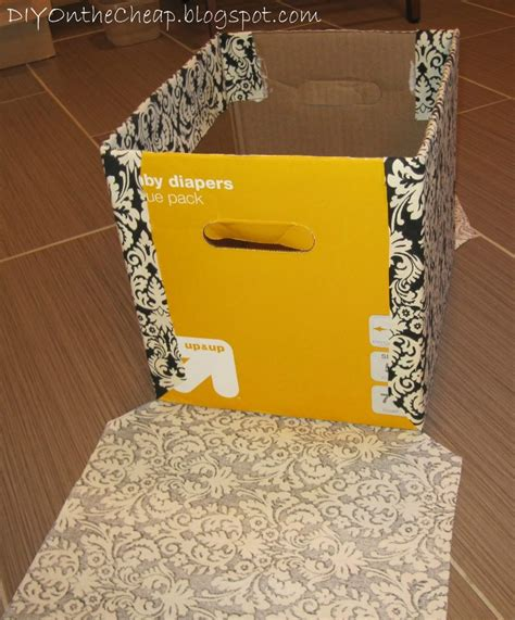 fabric covered boxes fabric covered box easy storage erin spain 3650