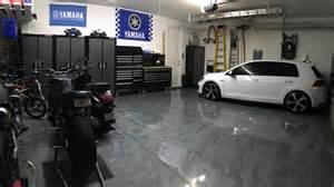 a rocksolid metallic garage floor coating project all garage floors