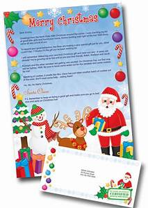 personalized letter from santa only 01 shipped today 11 With santa letter direct