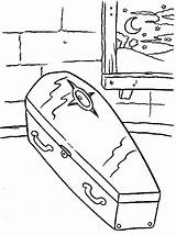 Coffin Halloween Familycorner Coloring Pages Corner Staff Posts sketch template