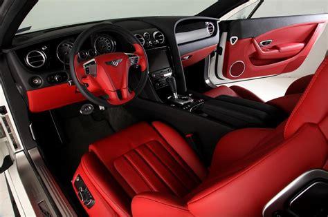 Bentley Continental Gt Red And Black Door Panels And Seats