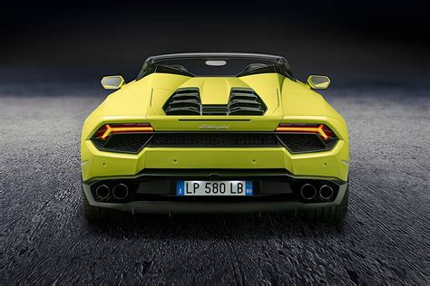 Lamborghini Huracan Lp 580 2 Spyder Rwd Specs 2018