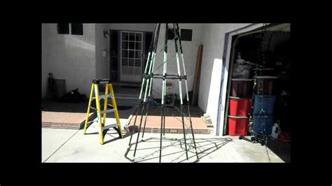 pvc spiral tree update youtube