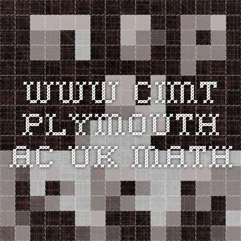 wwwcimtplymouthacuk math  images teaching