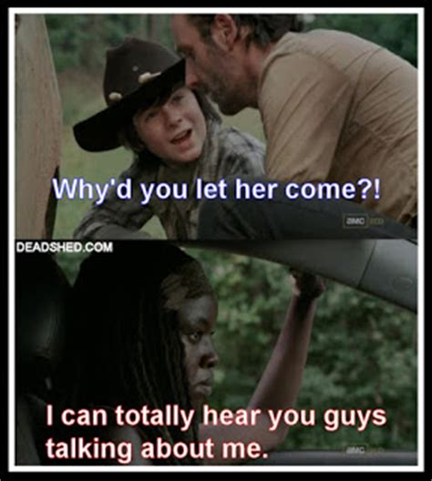 Walking Dead Rick And Carl Meme - deadshed productions road trip edition the walking dead 3x12 memes