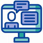Remote Learning Icon Today Development Professional Distance