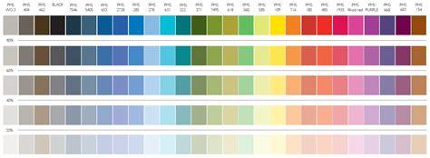 Tasmanian Government Communications. Colour palette
