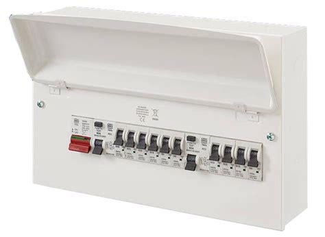mk sentry k7666smet 10 way amendment 3 metal consumer unit tob electrical