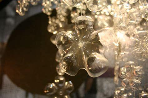recycled water bottle chandelier brand s stunning plastic bottle chandelier