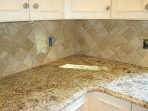 installing subway tile backsplash in kitchen travertine tile kitchen backsplash