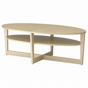 Couchtisch Oval Ikea : oval table w x base 179 vejmon coffee table birch ~ Watch28wear.com Haus und Dekorationen