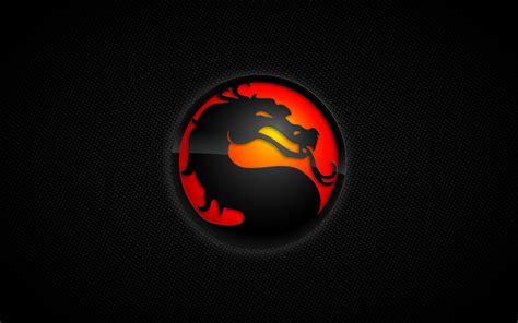 mortal kombat logo desktop wallpaper