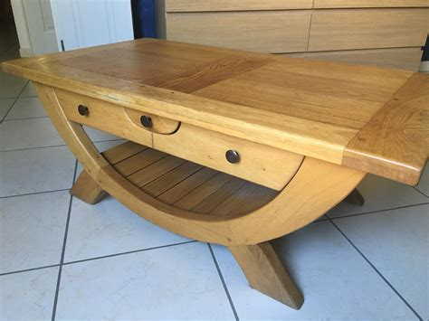 Belle Table Basse Chene Clasf