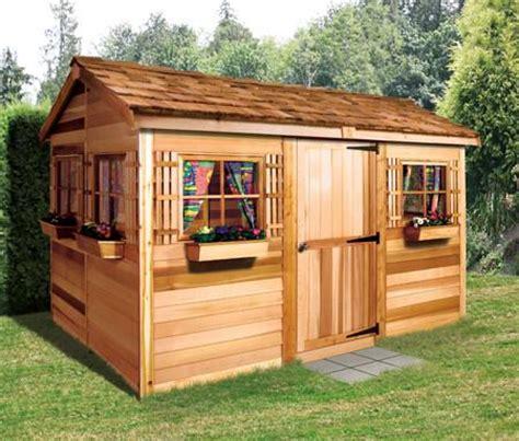 cedar garden sheds for sale house sheds garden houses backyard retreats