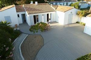 Pose Lame Terrasse Composite : lames de terrasse composite professional fix viss e ~ Premium-room.com Idées de Décoration
