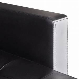 Kunstleder Couch Schwarz : vidaxl ecksofa schlaffunktion schlafsofa couch sofagarnitur kunstleder schwarz ebay ~ Indierocktalk.com Haus und Dekorationen