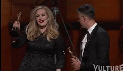 Gifs Adele Amazing Oscar Charlize Renee Re