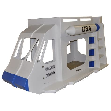 Spaceship Toddler Bed by Space Shuttle Theme Bunk Bed